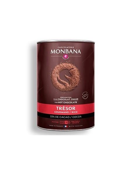 Chocolat en poudre Tresor de chocolat Monbana