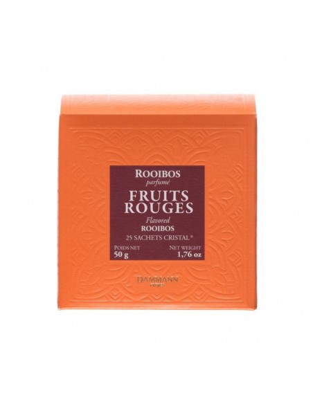 Thés Dammann Frères Rooibos fruits rouges